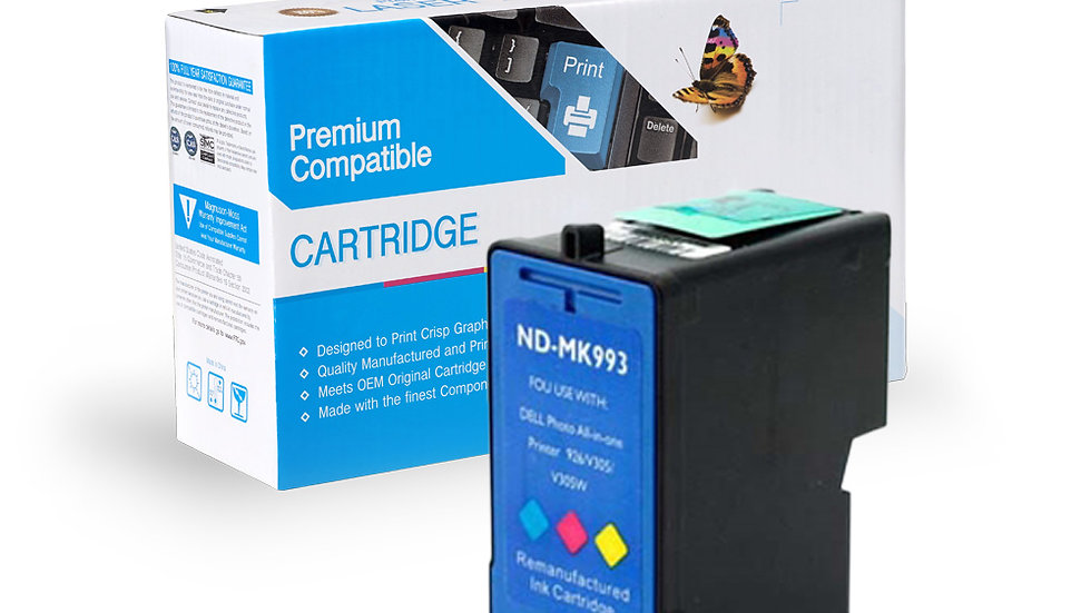 Dell Remanufactured Ink Cart MK993 (series 9) (MW174)