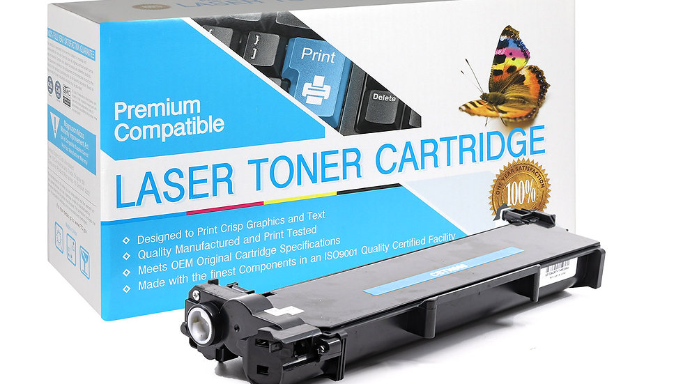 Brother TN630/660 Compatible Toner Cartridge- Black
