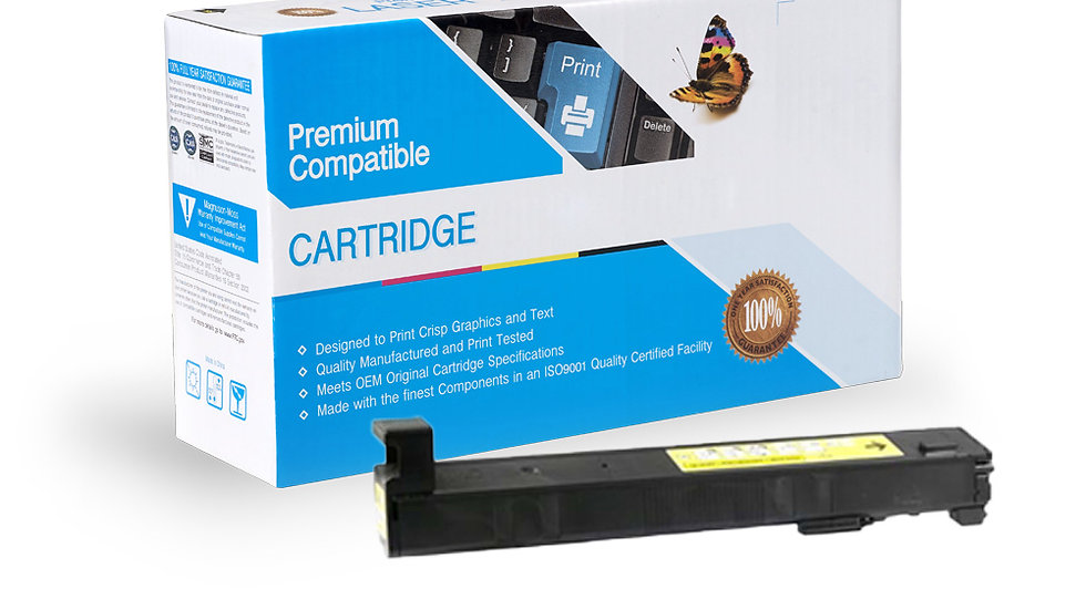 HP CF302A (HP 827A) Compatible Yellow Toner Cartridge