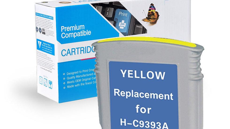 HP Remanufactured Ink Cart C9393AN/C9388AN No. 88XL Yellow