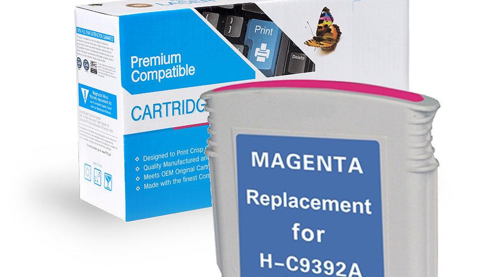 HP Remanufactured Ink Cart C9392AN/C9387AN No. 88XL Magenta