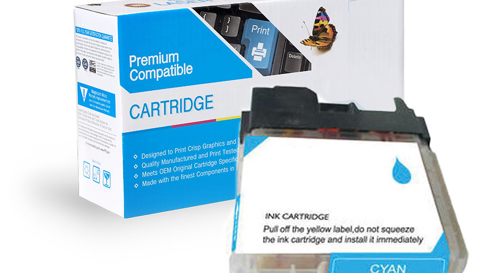 Brother Compatible Ink Cart LC61C