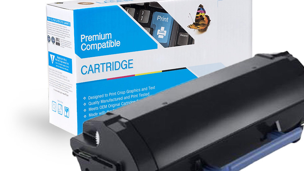 Dell 331-9805 Compatible High Yield Black Toner Cartridge