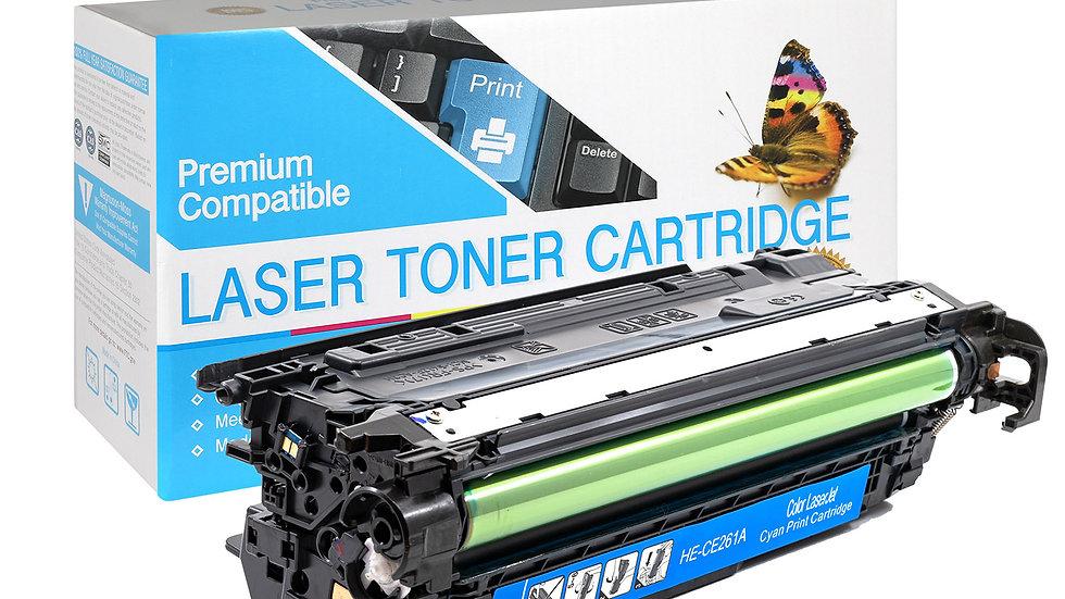 HP Compatible CE261A  Cyan Toner Cartridge