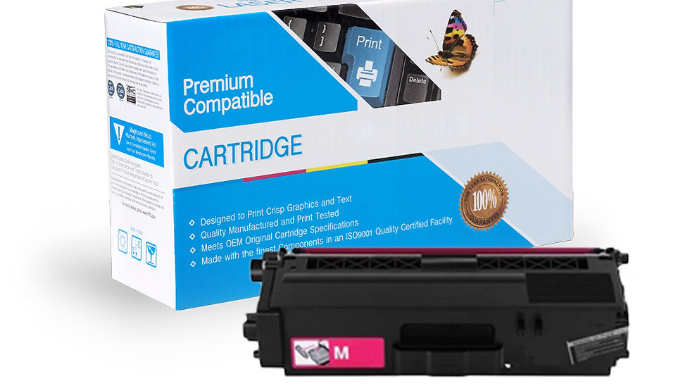 Brother TN336M Compatible High Yield Magenta Toner Cartridge