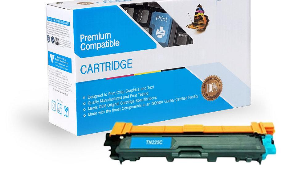 Brother TN221C / TN225C Compatible Cyan Toner Cartridge