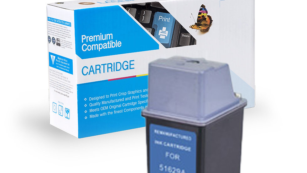HP Remanufactured Ink Cart 51629A (No. 29)
