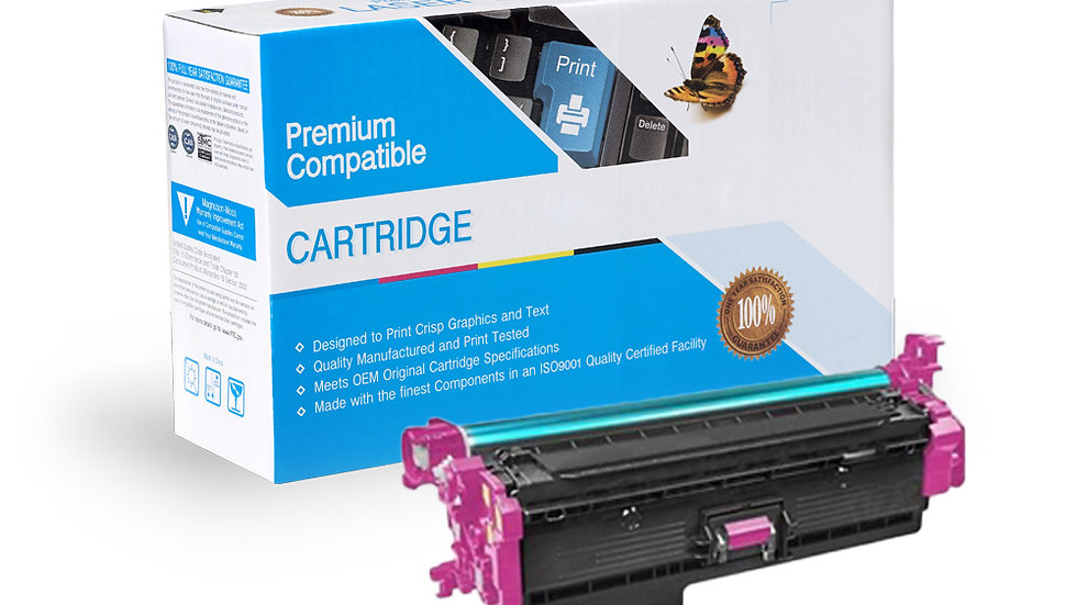 HP CF363X, 508X High Yield Compatible Toner- Magenta
