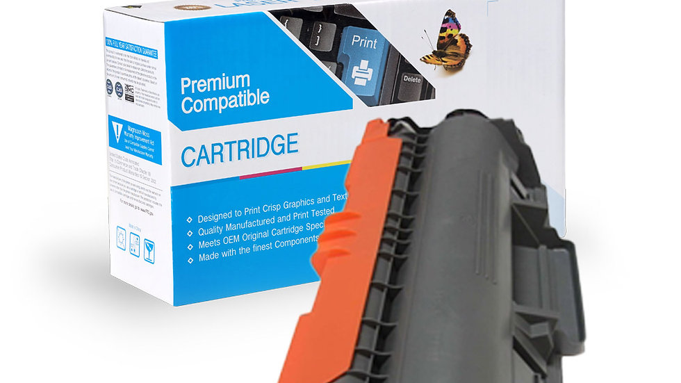 Brother TN750 High Yield Compatible Toner- Black
