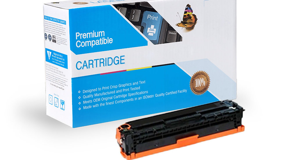 HP Compatible CE340A Cartridge (651A) Black