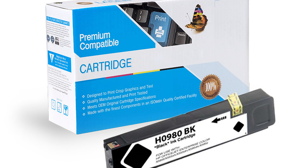 HP D8J10A (HP 980) Compatible Inkjet- Black
