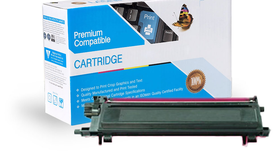 Brother TN115M Compatible Magenta Toner Cartridge