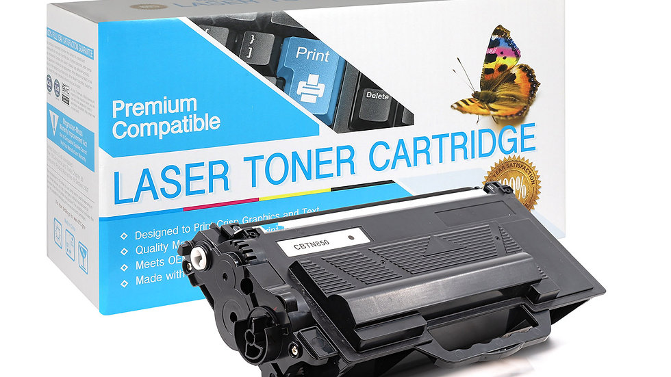 Brother TN850 High Yield Compatible Toner- Black