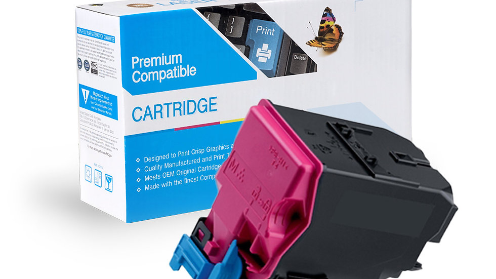 Konica Minolta A0X5350, A0X5351 Magenta Toner Cartridge