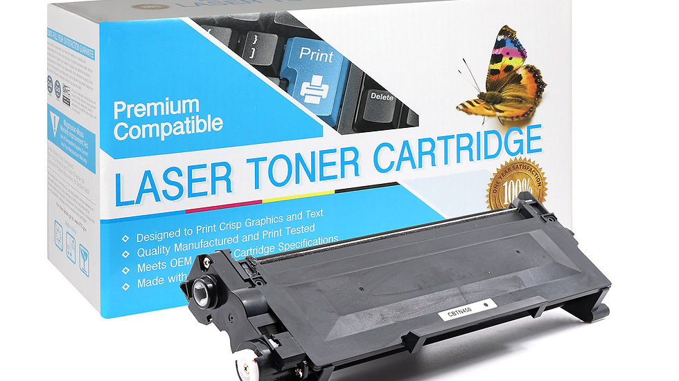 Brother TN450 Compatible Toner- Black