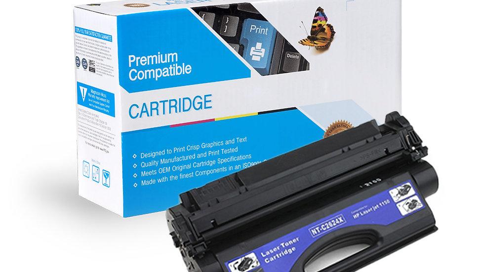 HP Q2624X Hi-Yield Compatible Black Toner Cartridge