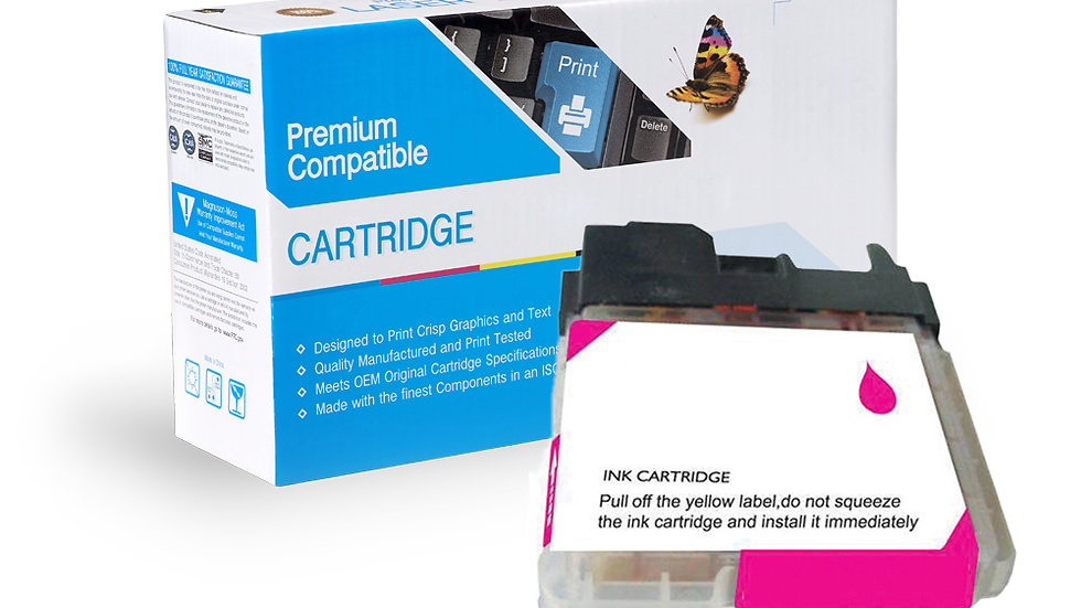 Brother Compatible Ink Cart LC65M
