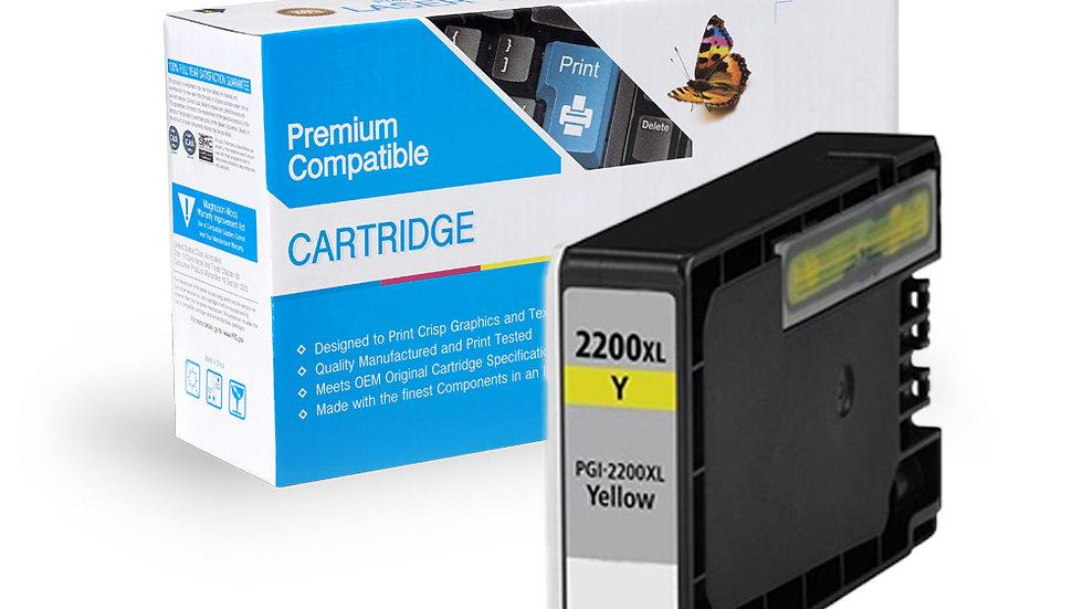Canon PGI-2200XL Compatible Inkjet- Yellow