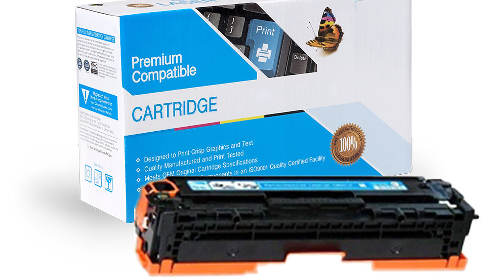 HP Compatible CE321A  Cyan Toner Cartridge