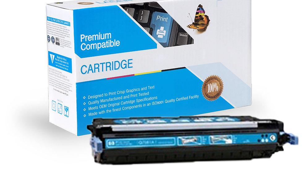 HP Q7581A Compatible Cyan Toner Cartridge