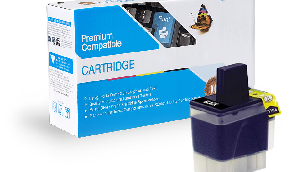 Brother Compatible Ink Cart LC41BK