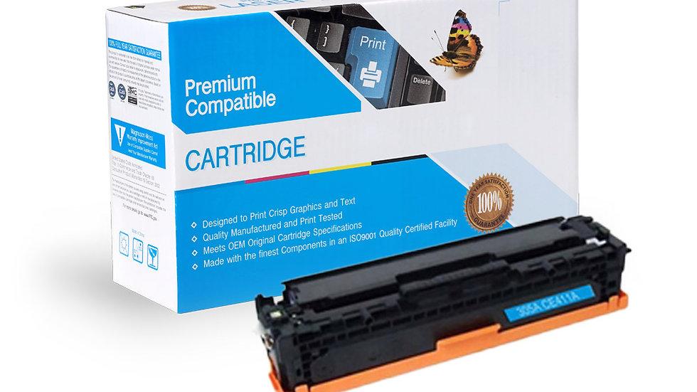 HP CE411A (305A) Compatible Toner- Cyan