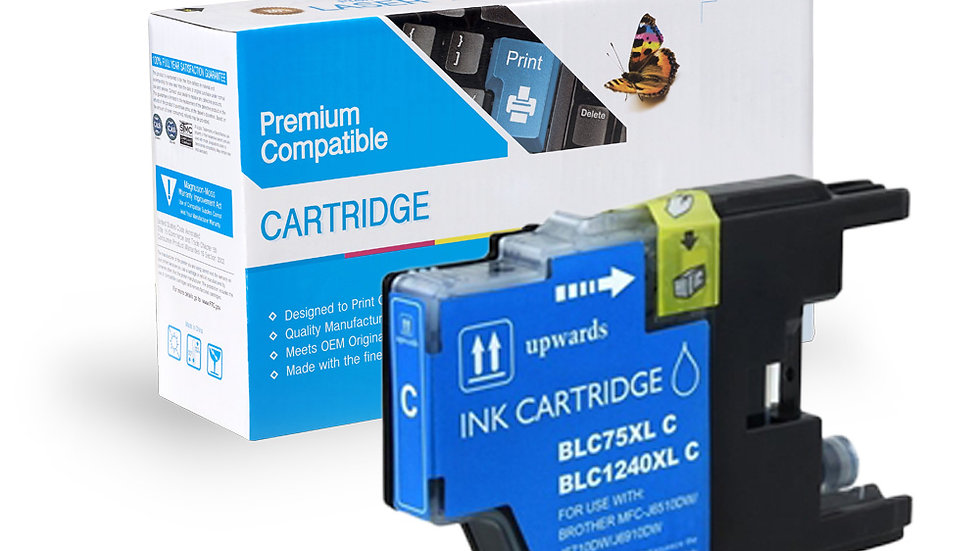 Brother Compatible Ink Cart LC75C