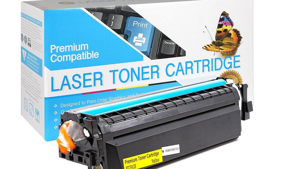 HP CF412X, 410X High Yield Compatible Toner- Yellow