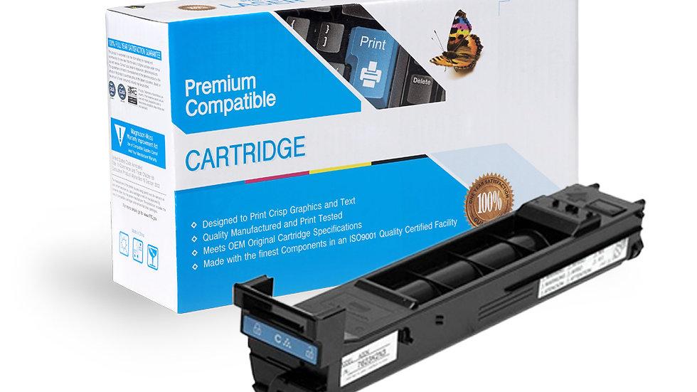 Konica Minolta A0DK432 Compatible Cyan Toner Cartridge