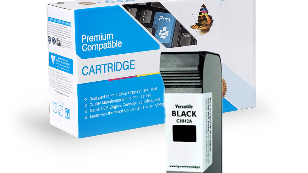 HP Remanufactured Ink Cart C8842A HP