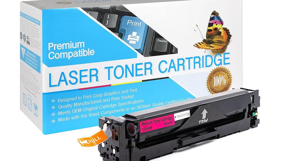 Canon 045H Hi-Capacity Compatible Toner- Magenta