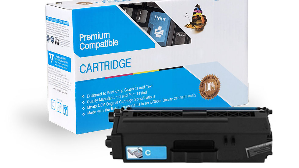 Brother TN336C Compatible High Yield Cyan Toner Cartridge