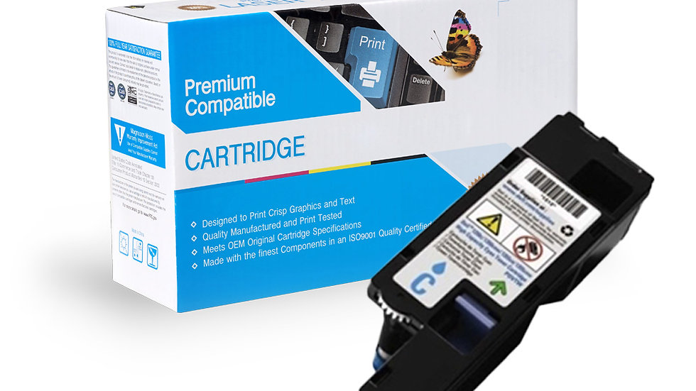Dell Compatioble Cyan HY Toner -1250, 1350, 1355 Series