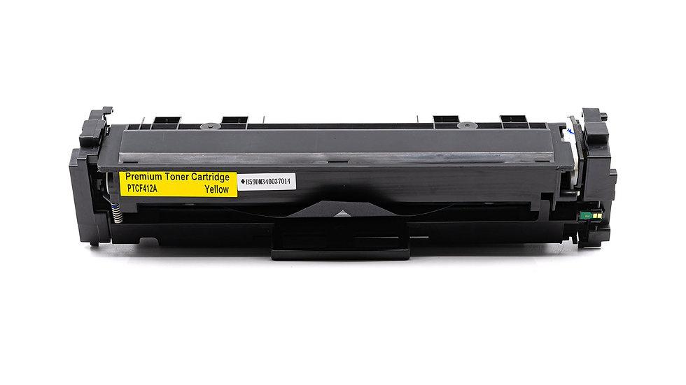 HP CF412A, 410A Compatible Toner- Yellow