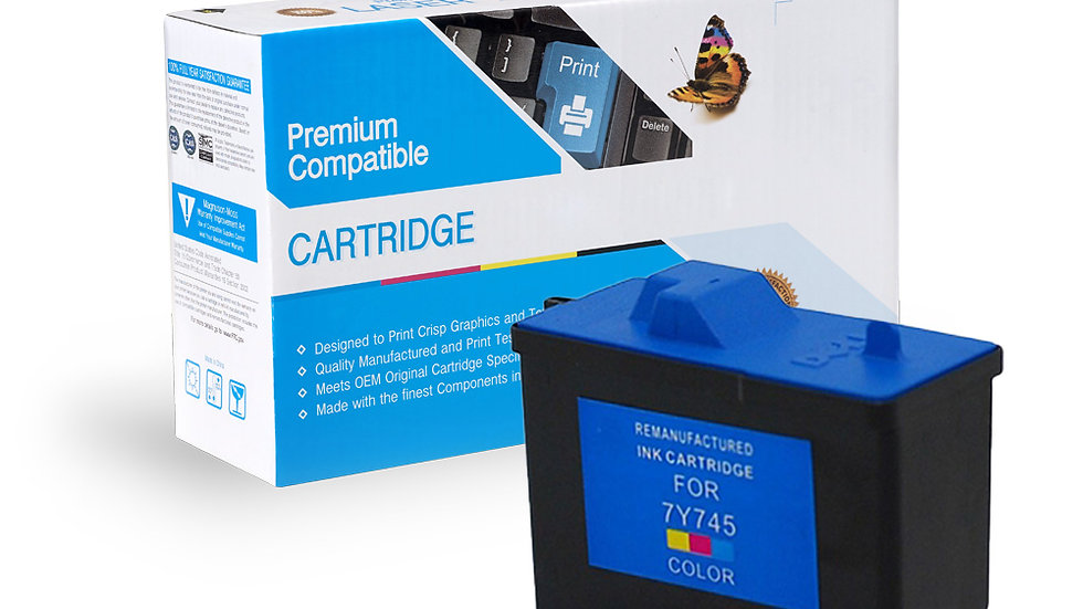 Dell Remanufactured Ink Cart 7Y745 (X0504)