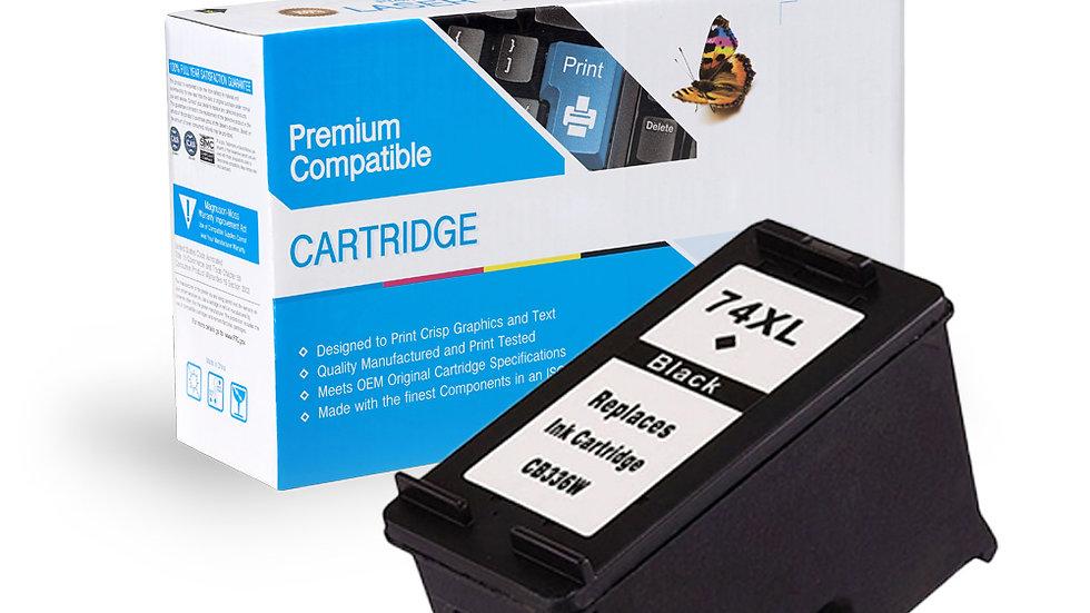 HP Remanufactured Ink Cart CB336WN (No. 74XL)