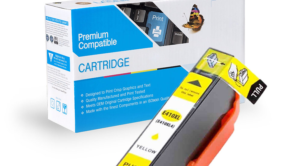 Epson T410XL420 Reman High Yield Inkjet- Yellow