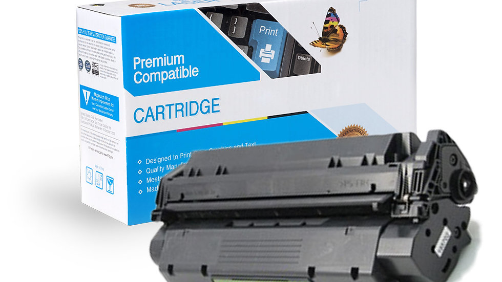 HP C7115A Compatible Black Toner Cartridge