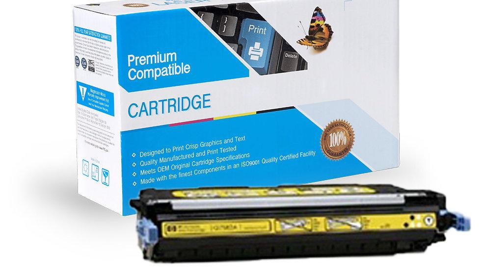 HP Q7582A Compatible Yellow Toner Cartridge