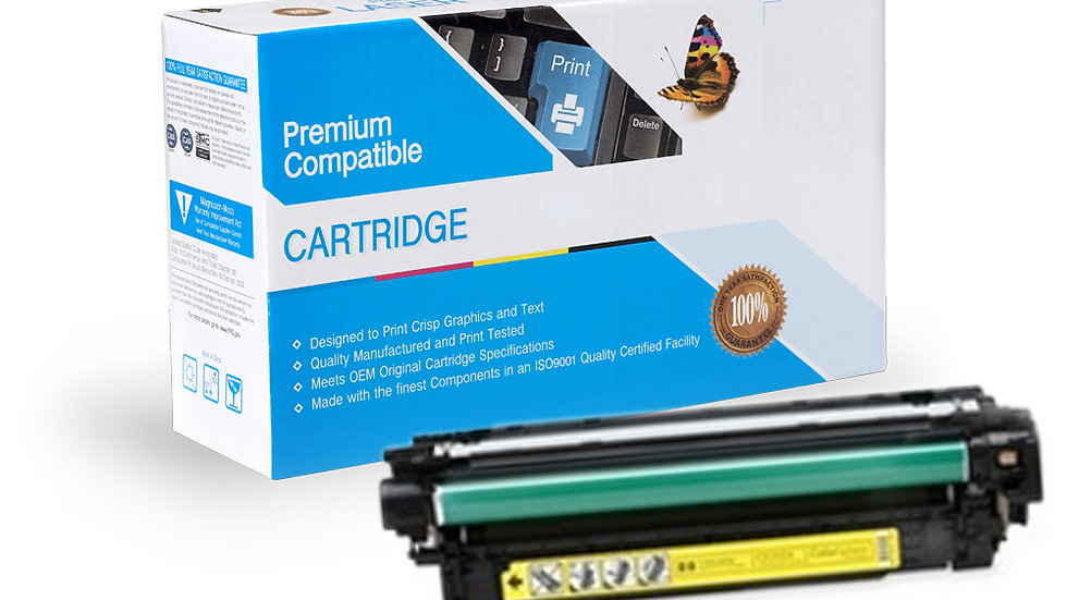 HP CE252A Compatible Yellow Toner Cartridge