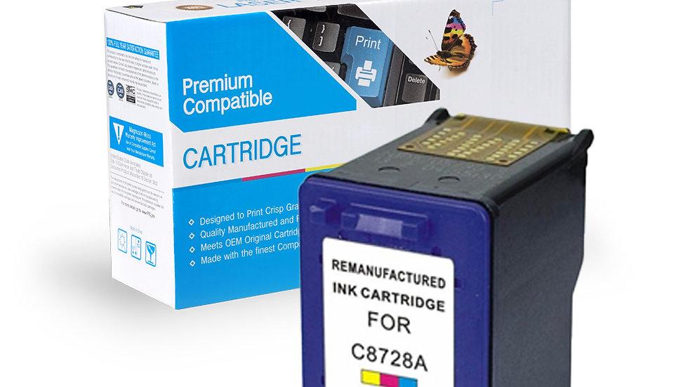 HP Remanufactured Ink Cart C8728A (No. 28)