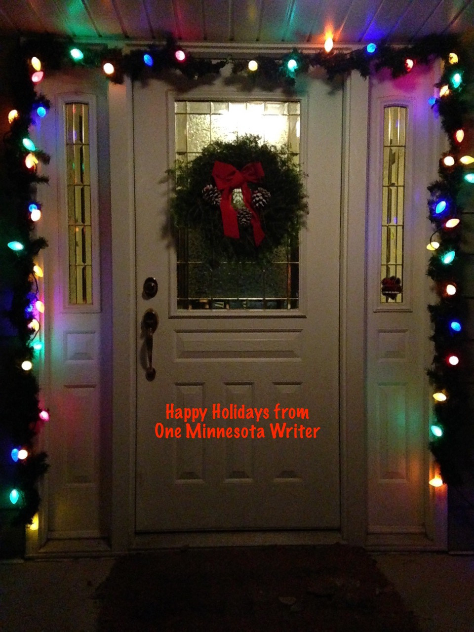 happy holidays from one minnesota writer