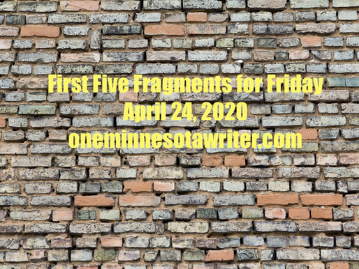 First Five Fragments for Friday: Signs