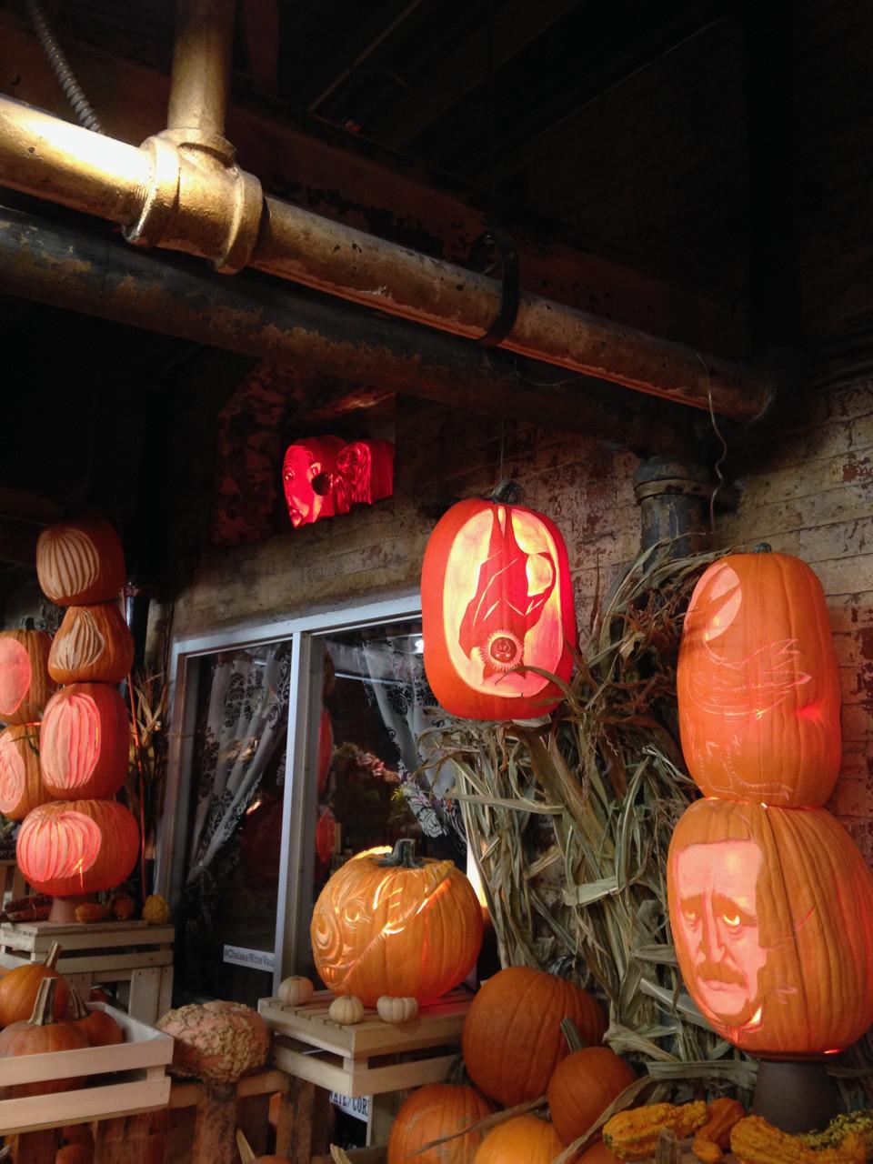 Pumpkins in Chelsea Market