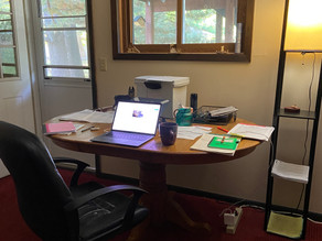 The Writing Life: When Your Home Office Closes in on You