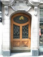 Random door in Old Town Zurich