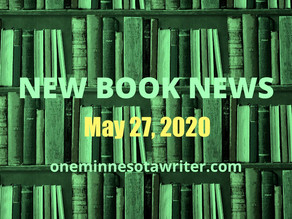NEW BOOK NEWS FOR WEDNESDAY, MAY 27