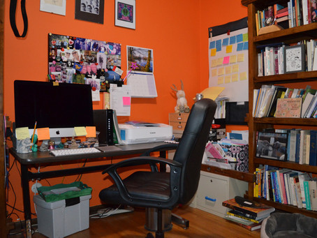 What's In Your Writing Space?