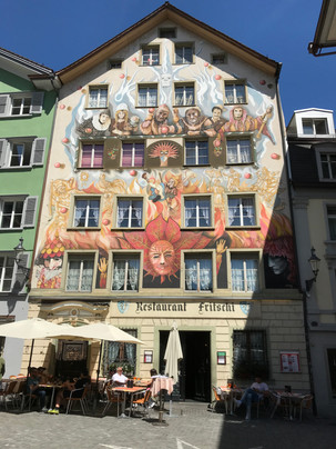 In Old Town Lucerne