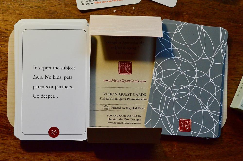 Vision Quest card deck